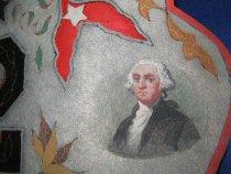Image of detail, George Washington