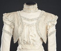 Image of front view of bodice
