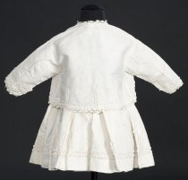 Image of back view with jacket