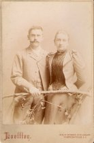 Image of Eduard C. Meurer and Margaretha Siemer before their marriage, ca. 1892