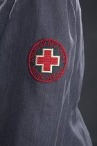 Image of detail of sleeve patch