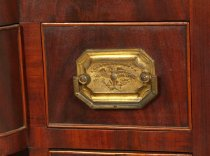 Image of detail of drawer pull