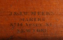 Image of detail of maker's mark