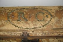 Image of detail of Richard Conner's initials