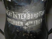 Image of detail, inscription on back