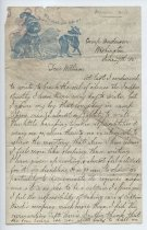 Image of Ward Family Papers - John Ward letter to William