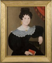 Image of Portrait of Catherine Rachel (Winant) Cole (with frame)
