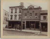 Image of First Post Office on Staten Island, photo by Charles M. Steinrock, ca. 1888