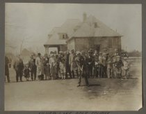 Image of [Silver Lake Golf Course official opening] - Print, Photographic