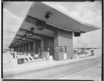 Image of [Verrazano-Narrows Bridge toll plaza] - Negative, Film