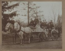 Image of [Castleton Fire Patrol No. 1 with vehicle] - Print, Photographic
