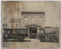 Image of C.A. Scheiper wagon works, Bay Street, Tompkinsville, Staten Island