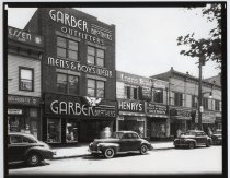 Image of Garber Brothers, Canal Street, Stapleton, photo by Herbert Flamm, ca. 1946