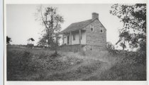 Image of Basket Maker's House on its original site in New Springville, 1923