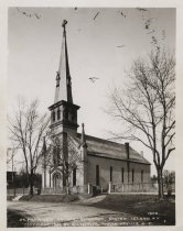 Image of St. Patrick's Church, photo by August Loeffler, 1906