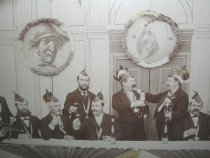 Image of detail of Staten Island Quartett Club photograph by George Bear, 1896-1897