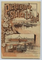 Image of Booklet cover, Picturesque Staten Island, 1886