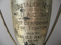 Image of detail, cup inscription