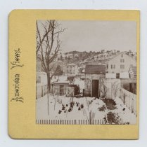 Image of View of Tompkinsville from Planters Hotel, H. Hoyer stereoview, ca. 1859