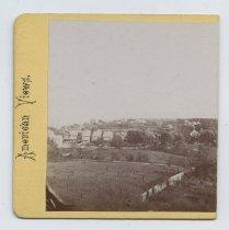 Image of Stapleton, stereoview by H. Hoyer, ca. 1859