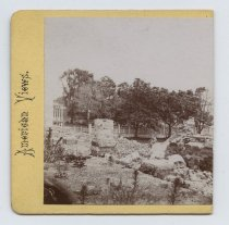 Image of [Ruins at the Quarantine] - Stereoview