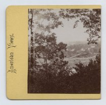 Image of Clifton and Fort Wadsworth, stereoview by H. Hoyer, c. 1859