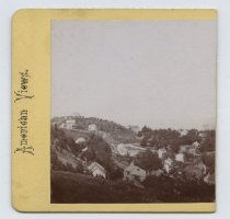 Image of Stapleton and Ward's Hill, stereoview by H. Hoyer, ca. 1859