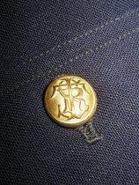Image of detail, vest button