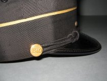 Image of detail with B&O button
