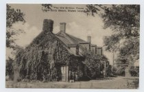 Image of The Old Britton House - Postcard