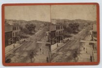 Image of Bay Street, Stapleton, photo by Isaac Almstaedt, ca. 1878-1885