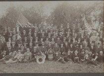 Image of Rubsam & Horrmann employees, photo by George Bear, 1902