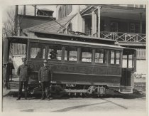 Image of Midland trolley, photo by Coleman Benedict, ca. 1900