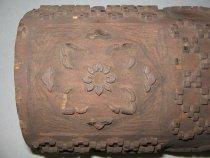 Image of detail, flower motif