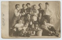 Image of Wagner College students, ca. 1915