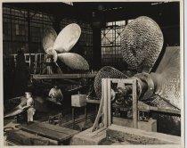 Image of Propeller plan, Bethlehem Steel shipyard