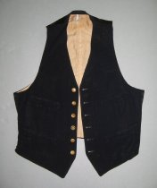 Image of front view, unbuttoned
