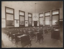 Image of Interior, Public School 16, photo by Isaac Almstaedt, ca. 1895