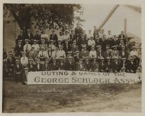 Image of Outing & Games of the George Schloer Assn., 1908