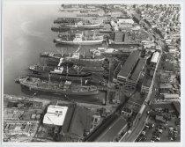 Image of [Bethlehem Steel shipyard] - Print, Photographic
