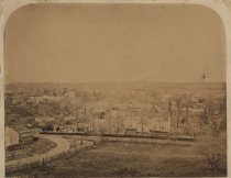 Image of Village of Richmond, photo possibly by John E. Lake, ca. 1868