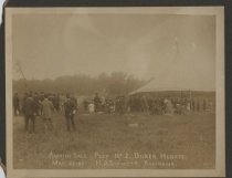 Image of Auction Sale, Decker Heights, May 23, 1908