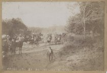 Image of Parade of the Staten Island Driving Club, photo by George Bear, 1900