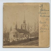 Image of St. Andrew's Church - Richmond S.I. - Print, Photographic