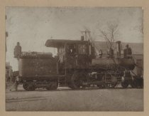Image of Staten Island Rapid Transit steam engine #18, ca. 1910s-1920s