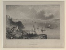 Image of New York Bay. From the Telegraph Station, ca. 1840