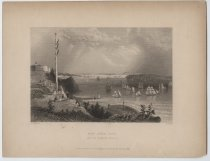 Image of New York Bay (From the Telegraph Station), 1838
