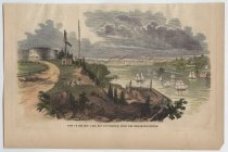 Image of View of the New York Bay and Harbor, From the Telegraph Station, 1852