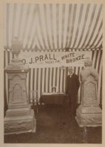 Image of Oscar J. Prall, ca. 1889