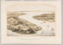 Image of Panorama of the Harbor of New York, Staten Island and the Narrows, 1854